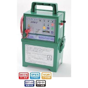 「商品スペック」  型式名:TAK-4300DC2  防水機能:IPX5  有効柵線距離:アルミコー...