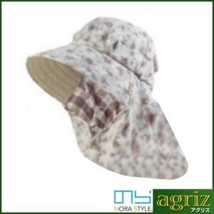 のらスタイル ふわっと涼しい帽 ダブルガーゼ(裏チェック)|agriz