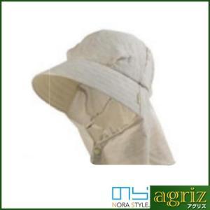 のらスタイル ふわっと涼しい帽 ダブルガーゼ(グレー)|agriz