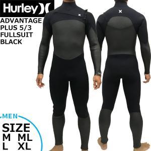 19-20 HURLEY ハーレー ADVANTAGE PLUS 5/3 FULLSUIT BLK ...