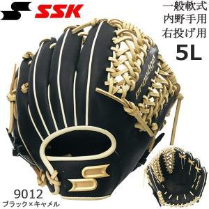エスエスケイ SSK 野球 軟式プロエッジ内野手用 グラブ PEN66619F-9012の商品画像 ナビ
