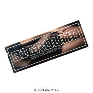 81GROUND BUMPER STICKER Ver.glamorous バンパーステッカー ボックスステッカー オリジナル JDM USDM HDM Stance 四駆 SUV クロカン CIVIC JAPAN|agstyle