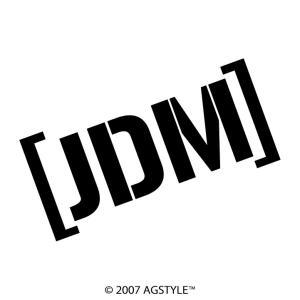 [ JDM ] カッティングステッカー 車 JDM USDM HDM STANCE US オリジナル デザイン スタンス agstyle