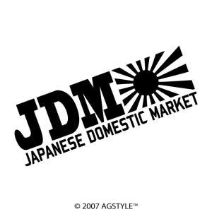 JDM JAPANESE DOMESTIC MARKET カッティングステッカー 車 USDM HDM STANCE US オリジナル デザイン スタンス agstyle