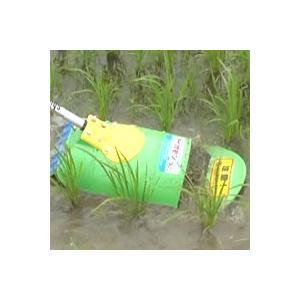 アイガモン・すいすいカッタ−合鴨式水田用除草機アタッチメント|aguila