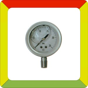 永田製作所 φ60×25MPaグリセリン入圧力計(オールステンレス製)(R1/4)|aguila
