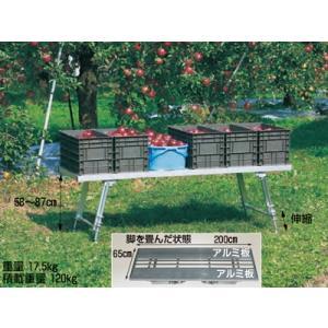 ハラックス 台五郎  SD-2065 アルミ製 作業台|aguila