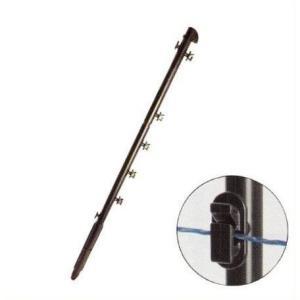 アニマルポールFRP タイガー電気柵用 イノシシ対策 16mm×930mm|aguila