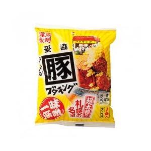 今、札幌で話題のラーメン店。 濃厚なみそとにんにくのパンチがきいたスープに超極太麺がバランス良くから...