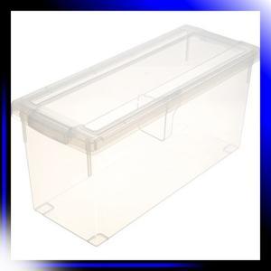 ディスク収納ボックス 幅17.5cm×奥行45cm×高さ21cm DVDいれと|ah-store