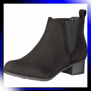 22.5 2E/黒S スタイルジェリービーンズ ブーツ マテリアルコンビ|ah-store