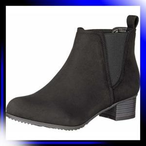 23 2E/黒S スタイルジェリービーンズ ブーツ マテリアルコンビサ|ah-store