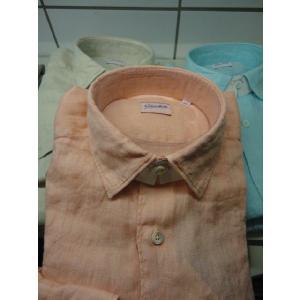 Glanshirt (グランシャツ) SEAN セミレギュラーシャツ LINEN|ah1982