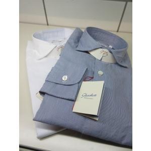 Glanshirt (グランシャツ) JWEEN ワイドカラー シャツ G6732 COTTON|ah1982
