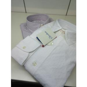 Glanshirt (グランシャツ) SEAN セミレギュラーシャツ COTTON|ah1982