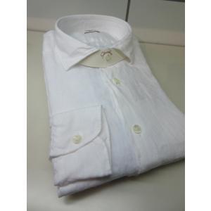Glanshirt (グランシャツ) JWEEN リネンワイドカラー シャツ G7023 LINEN|ah1982