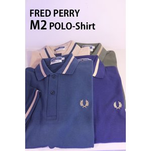 FRED PERRY フレッドペリー M2 Reissues SINGLE TIPPED POLO SHIRTS ポロシャツ|ah1982