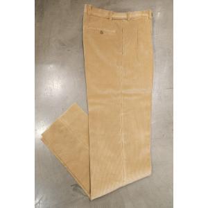 BERNARD ZINS ベルナールザンス BAC J 980 /Trousers コーデュロイ 2プリーツパンツ|ah1982