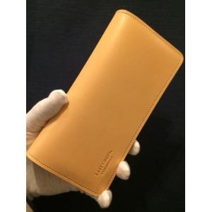LAST CROPS (ラストクロップス) STEED 二つ折り長財布 NATURAL/ナチュラル Buttero Leather ah1982