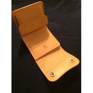 LAST CROPS (ラストクロップス) CASCADE 三つ折り財布 NATURAL/ナチュラル Buttero Leather ah1982