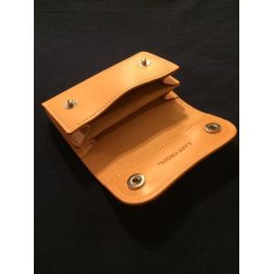 LAST CROPS (ラストクロップス) GLOVE マルチカードケース  NATURAL/ナチュラル Buttero Leather ah1982