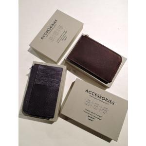 Creed クリード 253C050 HABANA L字ジップ カードケース チョコ、ネイビー|ah1982