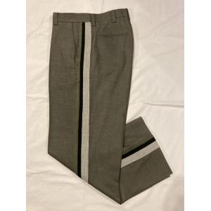 COOHEM (コーヘン) 20-202-017 KNIT SIDELINE PANTS *KHAKI / ニットサイドラインパンツ *カーキ|ah1982