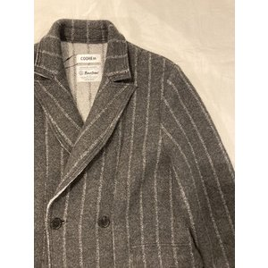 COOHEM (コーヘン) 20-204-026 BOILED WOOL KNIT JACKET/縮絨ウール ニットジャケット|ah1982