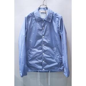 MAISON KITSUNE メゾンキツネ PLAIN BERTIL WINDBREAKER ウィンドブレーカー コーチジャケット *SKY BLUE|ah1982