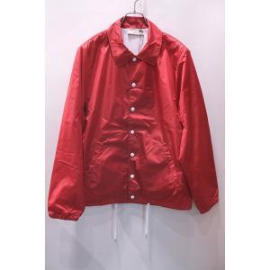 MAISON KITSUNE メゾンキツネ PLAIN BERTIL WINDBREAKER ウィンドブレーカー コーチジャケット *RED|ah1982