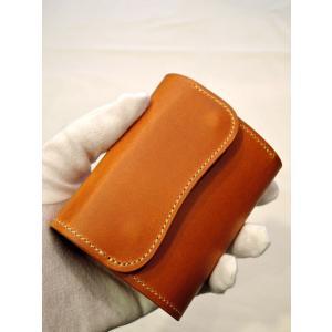 LAST CROPS (ラストクロップス) COLT 三つ折り財布 MAREMMA(マレンマ) NATURAL|ah1982