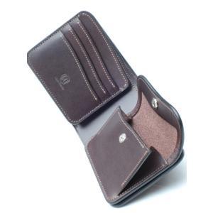 LAST CROPS (ラストクロップス) FLICKER 1 二つ折り財布 サドルプルアップレザー CHOCO|ah1982