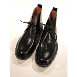 トリッカーズ ( Tricker's ) M6645 CHUKKA BOOTS チャッカブーツ【レザーソール】FITTING 5 BLACK|ah1982