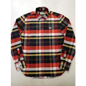 MAISON KITSUNE メゾンキツネ TARTAN CLASSIC BD SHIRT タータンチェックBDシャツ ah1982 02