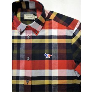MAISON KITSUNE メゾンキツネ TARTAN CLASSIC BD SHIRT タータンチェックBDシャツ ah1982 03