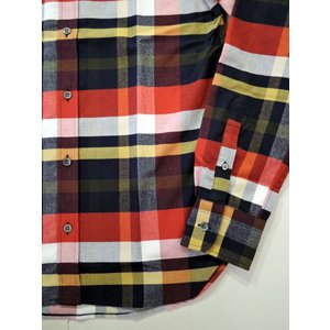 MAISON KITSUNE メゾンキツネ TARTAN CLASSIC BD SHIRT タータンチェックBDシャツ ah1982 07