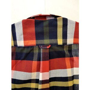 MAISON KITSUNE メゾンキツネ TARTAN CLASSIC BD SHIRT タータンチェックBDシャツ ah1982 09