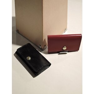 GLENROYAL(グレンロイヤル)【SLIM BUSINESS CARD HOLDER】 名刺入れ NEW BLACK、BORDEAUX|ah1982