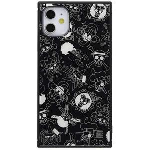 iPhone 11 ケース カバー ワンピース 耐衝撃 ストラップ ホール付き ハイブリッドケース KAKU 海賊旗マーク IQ-OP21K3TB/Oの商品画像|ナビ