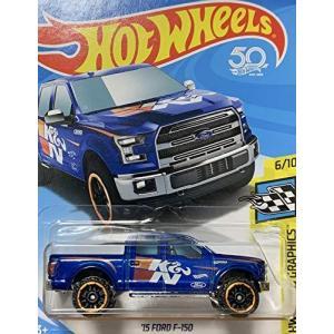HOT WHEELS ホットウィール '15 ford F-150 フォード ブルー #81