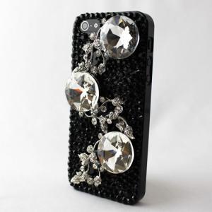 iPhone5/5s デコレーションケース i (アイ)ジュエリーNo1 ハンドメイド デコケース スマホケース ahhzee