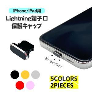 Lightning端子専用保護キャップ ライトニングポート iPhone iPad iPod  蓋 ...