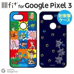 トイ・ストーリー Google Pixel 3 耐衝撃ケース  エイリアン IIIIfi+ ストラッ...