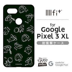 ディズニー Google Pixel 3 XL 耐衝撃ケース  トイ・ストーリー IIIIfi+ ス...