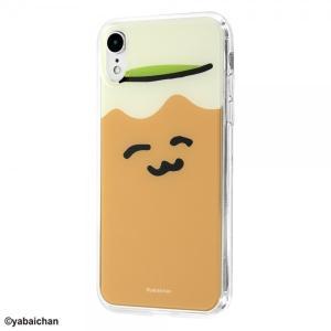 おしゅしだよ iPhone XR ハイブリッドケース おちゃ1 耐衝撃 TPUソフト素材 カバー ク...