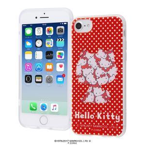 サンリオ iPhone8/7/6s/6 サンリオキャラクター TPUソフトケース レイヤーアート ハローキティ IN-SRP7S6HL/HK IN-SRP7S6HL-HK|ai-en