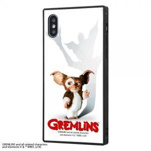 グレムリン iPhoneXS iPhoneX グレムリン 耐衝撃ガラスケース KAKU GREMLI...