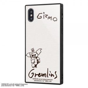 グレムリン iPhoneXS/X 耐衝撃ガラスケース KAKU ギズモ モグワイ 9H 強化ガラス ...