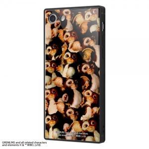 グレムリン iPhone8 iPhone7 グレムリン 耐衝撃ガラスケース KAKU TIGHT 9...