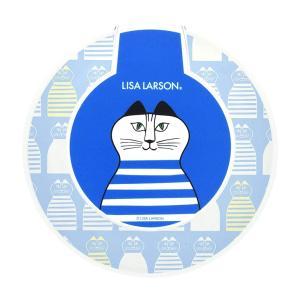 リサ・ラーソン ワイヤレス充電器 iPhone Galaxy スマホ 過電圧保護 ショート保護 ブルー ミンミ ネコ おしゃれ 北欧 キャラ LL-17BL|ai-en